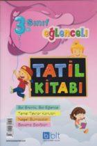 Bulut Eğitim Yayınları 3. Sınıf Eğlenceli Tatil Kitabı
