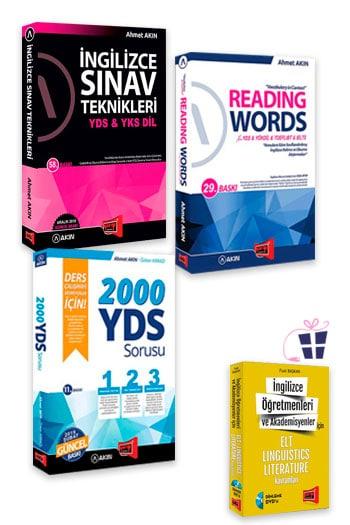 Akın Dil & Yargı Yayınları YDS Hazırlık Seti 6 + HEDİYELİ