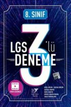 Beyin Takımı Yayınları 8. Sınıf LGS 3 lü Deneme