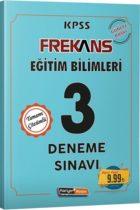 Kariyer Meslek Yayınları KPSS Eğitim Bilimleri Frekans 3 Deneme Sınavı