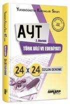 Ankara Yayıncılık AYT 2. Oturum Türk Dili ve Edebiyatı 24×24 Özgün Deneme