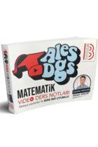 Benim Hocam Yayınları 2019 ALES DGS Matematik Video Ders Notları