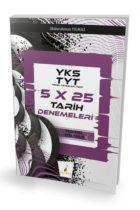 Pelikan Yayınları YKS TYT Tamamı Çözümlü 5×25 Tarih Denemeleri