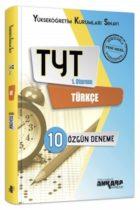 Ankara Yayıncılık TYT 1. Oturum Türkçe 10 Özgün Deneme
