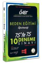 Yargı Yayınları ÖABT Beden Eğitimi Öğretmenliği 75'te 75 10 Deneme Sınavı