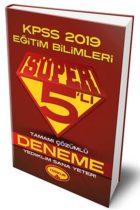 Yediiklim Yayınları 2019 KPSS Eğitim Bilimleri Süper 5'li Tamamı Çözümlü Deneme