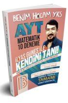 Benim Hocam Yayınları AYT Matematik 10 Deneme