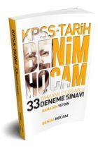 Benim Hocam Yayınları 2019 KPSS Tarih Tamamı Çözümlü 33 Deneme