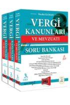 Yargı Yayınları Vergi Kanunları ve Mevzuatı Konu Anlatımı ve Soru Bankası 3 Kitap 5. Baskı 26 Şubat 2018