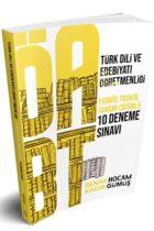 Benim Hocam Yayınları ÖABT Türk Dili ve Edebiyatı Öğretmenliği Tamamı Çözümlü 10 Fasikül Deneme Sınavı