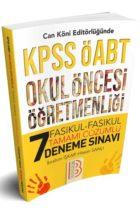 Benim Hocam Yayınları ÖABT Okul Öncesi Öğretmenliği Fasikül Fasikül Tamamı Çözümlü 7 Deneme Sınavı