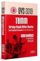 Data Yayınları 2019 GYS Türkiye Büyük Millet Meclisi İdari Teşkilatı Personeli Soru Bankası
