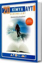 Apotemi Yayınları AYT Kimya Tamamı Çözümlü 20 li Denemeleri