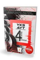 Pelikan Yayınları AYT Sayısal 4 Dörtlük 4 Deneme Sınavı