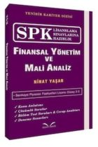 İkinci Sayfa Yayınları SPK Finansal Yönetim ve Mali Analiz