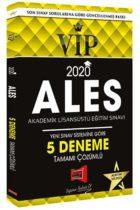Yargı Yayınları 2020 ALES VIP Yeni Sınav Sistemine Göre Tamamı Çözümlü 5 Deneme