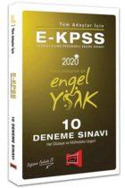 Yargı Yayınları 2020 E-KPSS Tüm Adaylar İçin 10 Deneme Sınavı