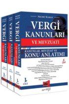 Yargı Yayınları Vergi Kanunları ve Mevzuatı Konu Anlatımı ve Soru Bankası 3 Kitap 6. Baskı 27 Mayıs 2019