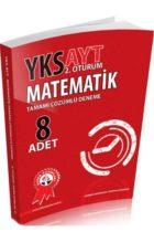 Zafer Yayınları AYT Matematik Tamamı Çözümlü 8 Deneme
