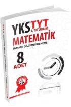 Zafer Yayınları TYT Matematik Tamamı Çözümlü 8 Deneme