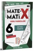Benim Hocam Yayınları KPSS ALES DGS TYT Matematix Soru Fasikülleri 6