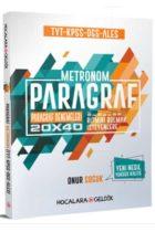 Hocalara Geldik TYT KPSS DGS ALES Paragraf Metronom 20×40 Paragraf Denemeleri