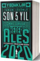 Yediiklim Yayınları 2020 ALES Sözel Sayısal Yetenek Tamamı Çözümlü Son 5 Yıl Çıkmış Sorular
