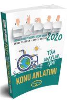 Yediiklim Yayınları 2020 EKPSS Tüm Adaylar İçin GY GK Konu Kitabı