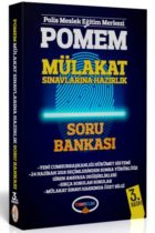 Yediiklim Yayınları POMEM Mülakat Sınavlarına Hazırlık Soru Bankası 3. Baskı