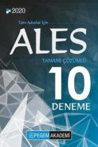 Pegem Yayınları 2020 ALES Tamamı Çözümlü 10 Deneme
