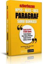 Pegem Yayınları 2020 KPSS ALES DGS Ezberbozan Paragraf Soru Bankası