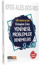 Kariyer Meslek Yayınları Tüm Sınavlar İçin Kolaydan Zora Yeni Nesil Çözümlü Problemler Denemeleri