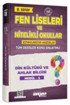 Ankara Yayıncılık 8. Sınıf Din Kültürü ve Ahlak Bilgisi Konu Anlatımlı Modül 5