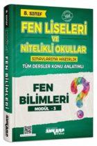 Ankara Yayıncılık 8. Sınıf Fen Bilimleri Konu Anlatımlı Modül 3