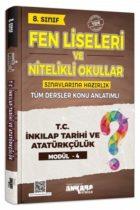 Ankara Yayıncılık 8. Sınıf T.C. İnkılap Tarihi ve Atatürkçülük Konu Anlatımlı Modül 4