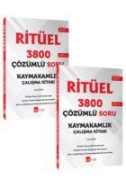 Akfon Yayınları Kaymakamlık RİTÜEL 3800 Çözümlü Soru Bankası 2li Set