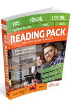 Yargı Yayınları YDS – YÖKDİL – LYS DİL – Hazırlık Atlama – TOEFL – IELTS Reading Pack Basitten Zora Pasajlar