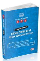 Editör Yayınları LGS Çıkmış Sorular ve Örnek Soruların Prototipi