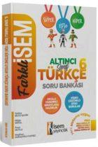 İsem Yayıncılık 6. Sınıf Türkçe Soru Bankası