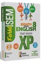 İsem Yayıncılık 8. Sınıf İngilizce Soru Bankası