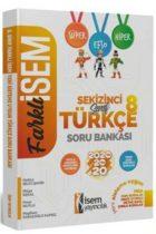 İsem Yayıncılık 8. Sınıf Farklı İsem Türkçe Soru Bankası