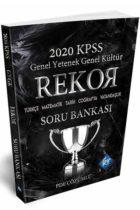 KR Akademi 2020 KPSS Rekor Genel Yetenek Genel Kültür Soru Bankası