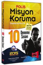 Misyon Koruma Sınavlarına Hazırlık 10 Deneme Sınavı Yargı Yayınları 2015