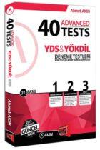 Akın Dil & Yargı Yayınları YDS & YÖKDİL 40 Advanced Tests 31. Baskı