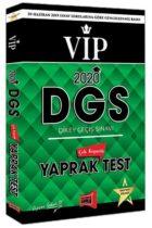 Yargı Yayınları 2020 DGS VIP Çek Kopartlı Yaprak Test