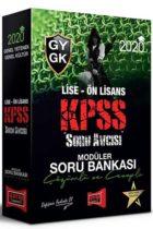 Yargı Yayınları 2020 KPSS Soru Avcısı Lise Ön Lisans GY GK Çözümlü ve Cevaplı Modüler Soru Bankası