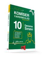 """Yargı Yayınları 2017 Komiser Yardımcılığı Sınavına Hazırlık 10 Deneme Sınavı Yıldız Serisi 3 """"3. Baskı"""""""
