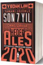 Yediiklim Yayınları 2020 ALES Sözel Sayısal Yetenek Tamamı Çözümlü Son 7 Yıl Çıkmış Sorular