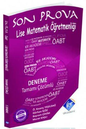 KPSS Kitapları>KPSS Öğretmen Alan Sınavı>KPSS ÖABT Deneme Sınavları>Lise Matematik Öğretmenliği Deneme Kitabı