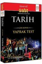 KPSS Kitapları>KPSS Öğretmen Alan Sınavı>KPSS ÖABT Yaprak Test>Tarih Öğretmenliği Yaprak Test Kitabı